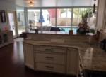 617 Mississippi St kitchen to living